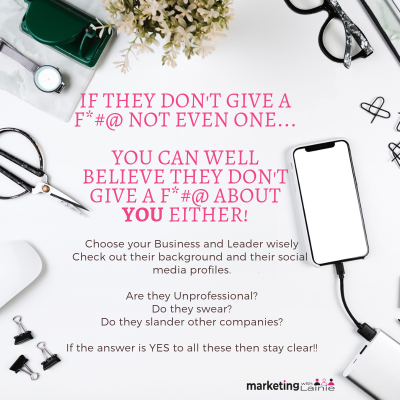 Why YOU Should GIVE A F*#! In Your Business…